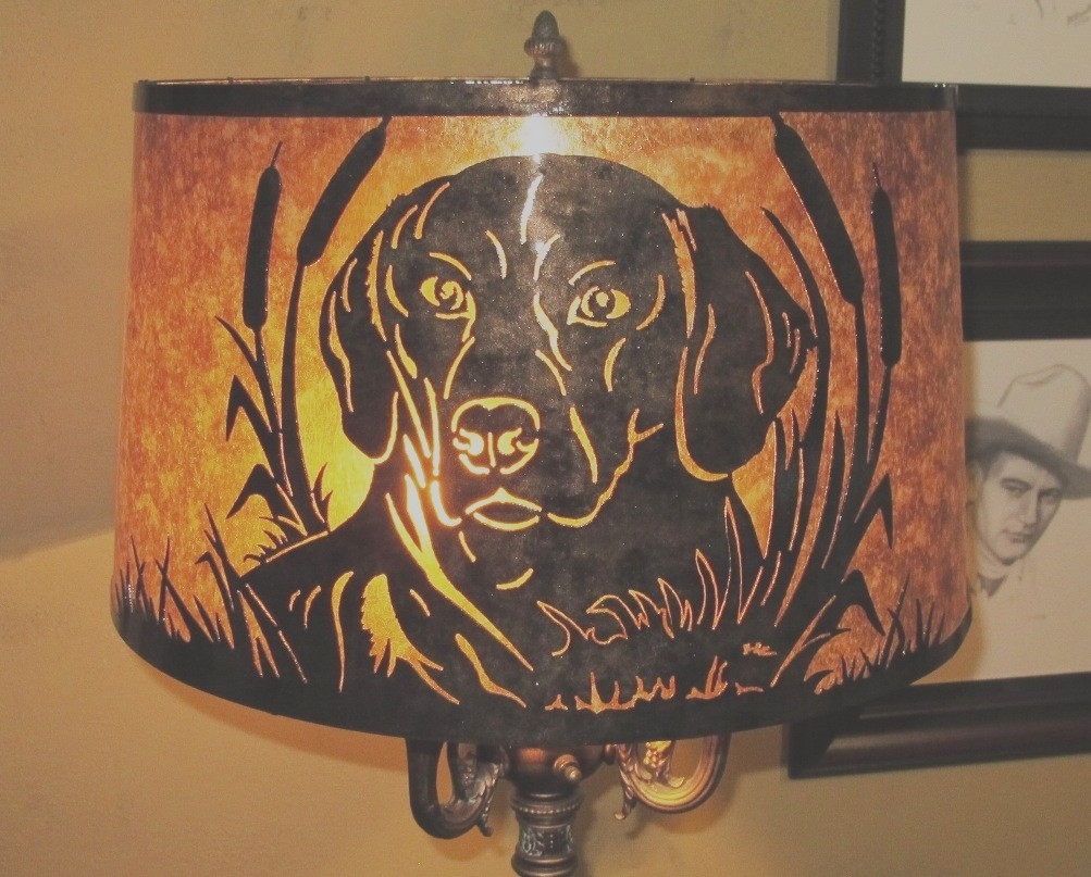 Custom Mica Floor Lamp Shade