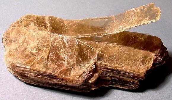 Natural Mica Mineral Mined From The Earth
