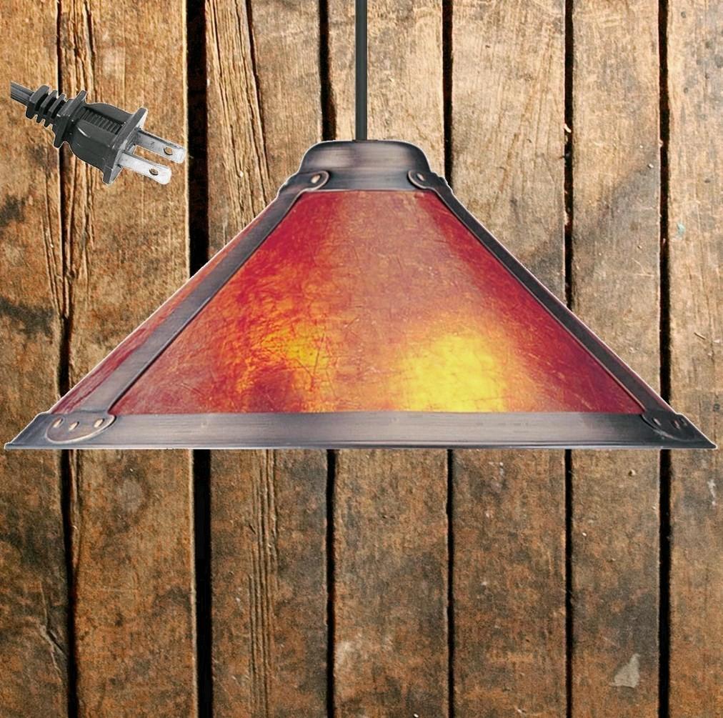 """Dirk Van Erp Mica Pendant Light 18.5""""W - Sale !"""