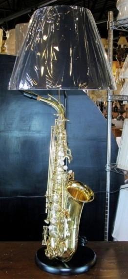 Saxophone Table Lamp Cx29800