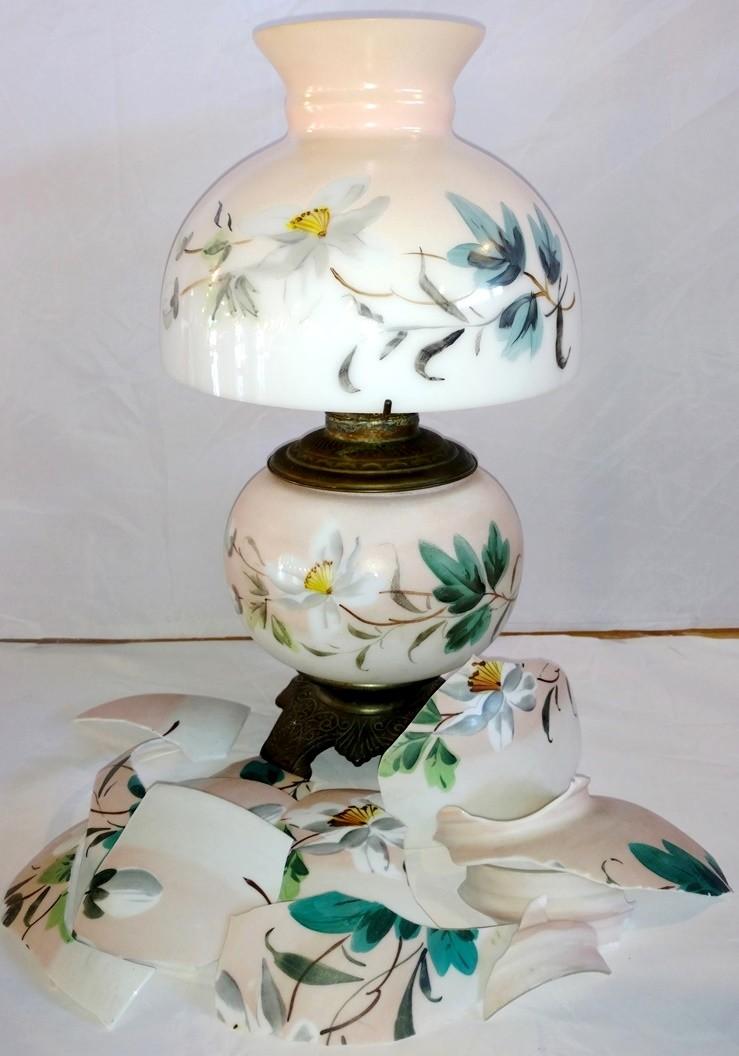 Hurricane Glass Shade Repair Lamp Shade Pro