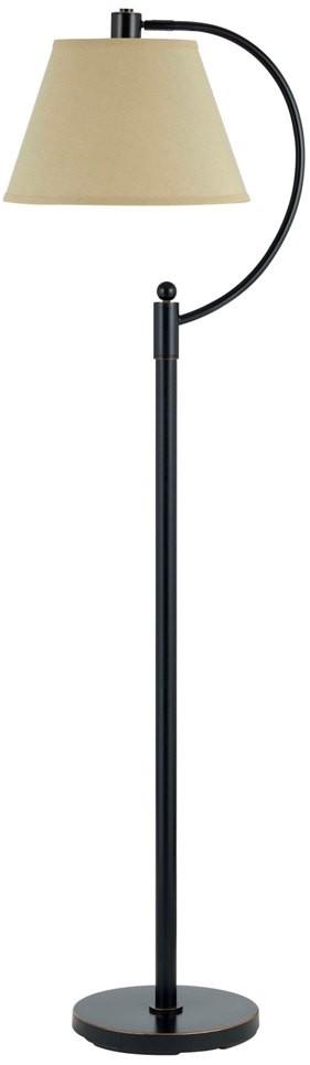 Bronze Curved Arm Floor Lamp Bo 2449fl Db