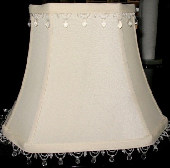 Beaded fringe rectangle lamp shade lamp shade pro we customize any rectangle lamp shade aloadofball Choice Image