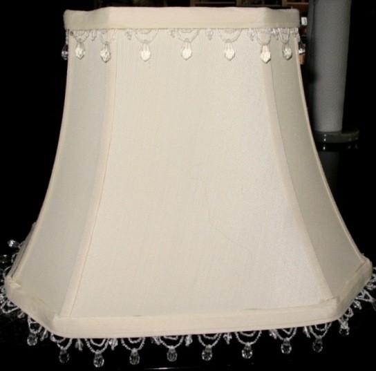 Beaded Fringe Rectangle Lamp Shade Lamp Shade Pro