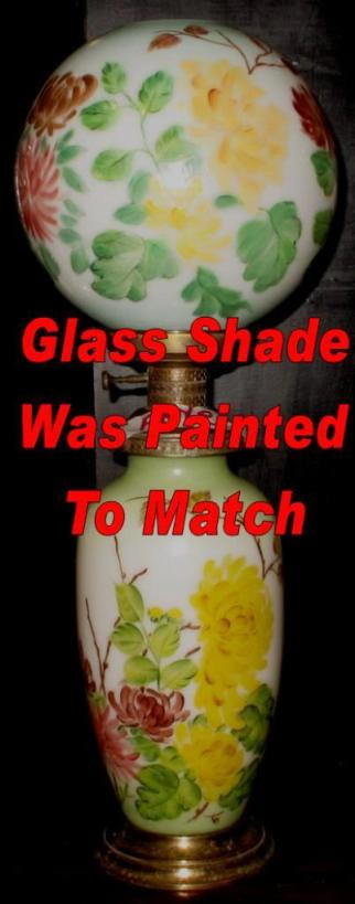 Hand Painted Ball Globe Glass Shade Lamp Shade Pro