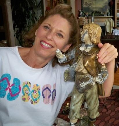 Marbro & Statue