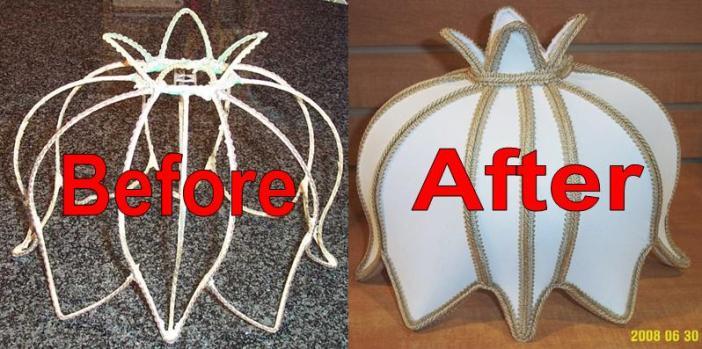 Exotic Lamp Shades exotic lamp shade restoration | lamp shade pro