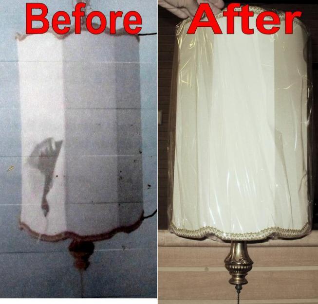 Hanging Swag Lamp Shade Repairs Lamp Shade Pro