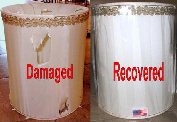 Drum Lamp Shade Repair
