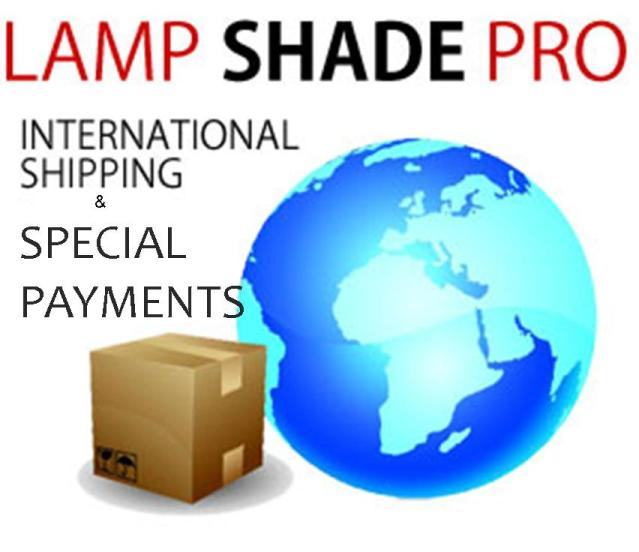 Special Payments & International Shipping