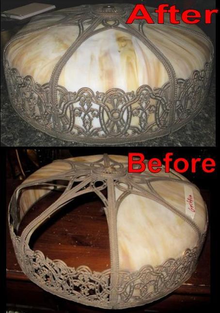 Fine Quality Slag Shade Repair Lamp Shade Pro