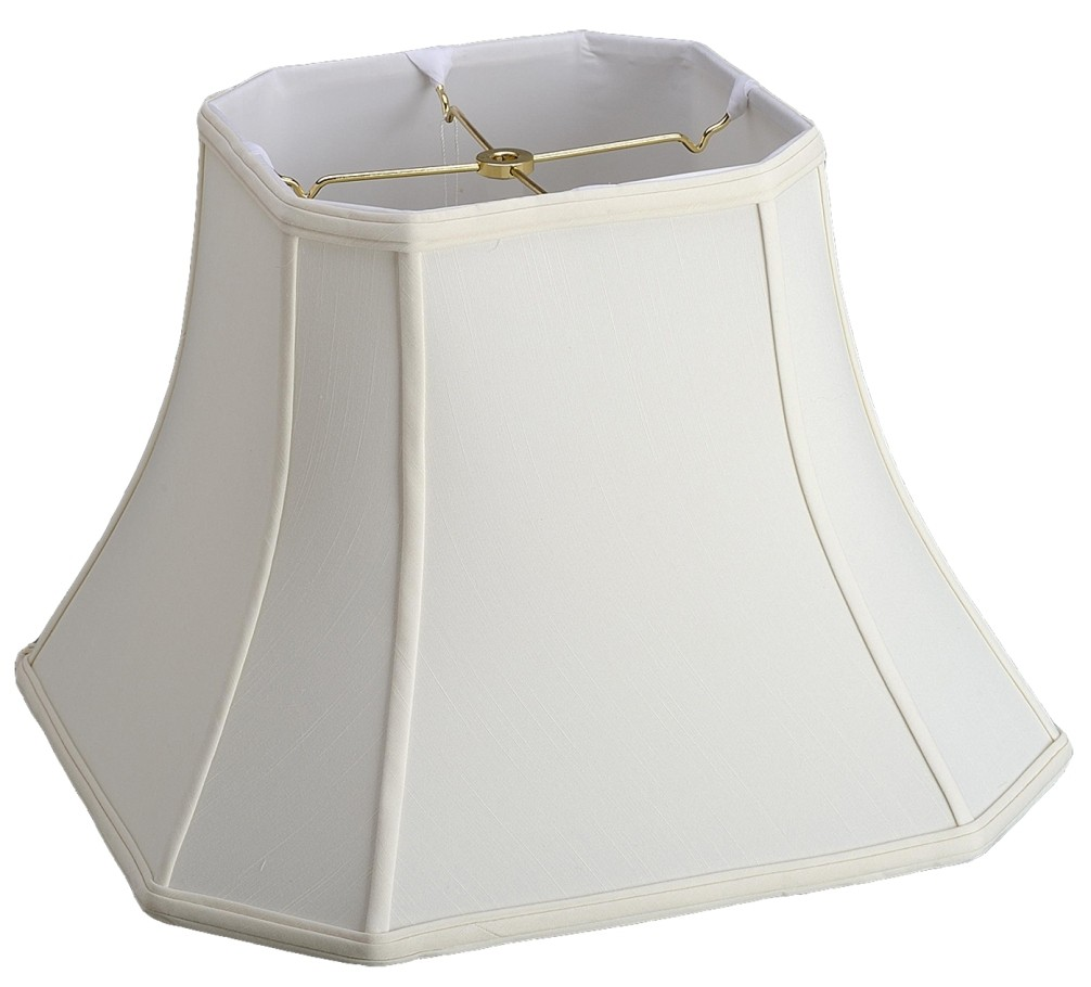 Bell cut corner silk square lamp shade lamp shade pro bell cut corner square lamp shade cream white black 8 18w mozeypictures Choice Image