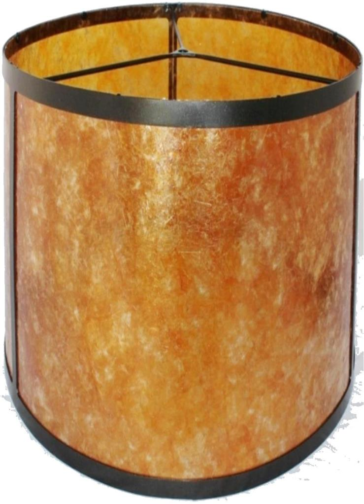 Tall Drum Mica Lamp Shade Pro, Tall Barrel Lamp Shades