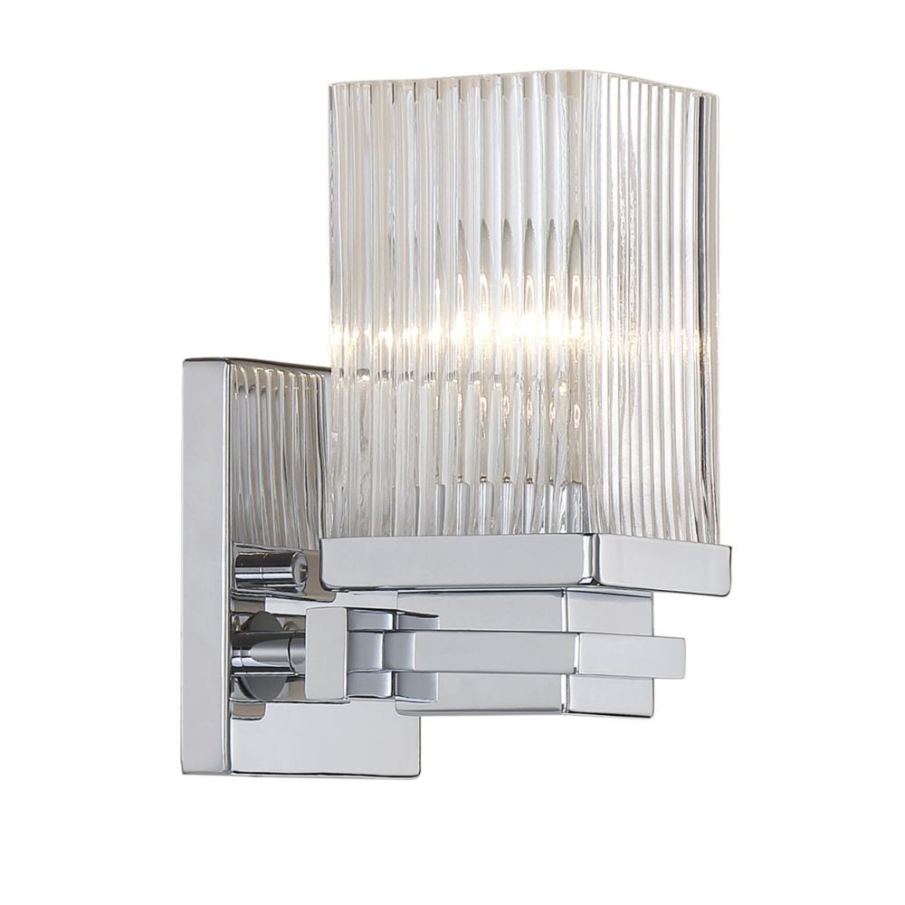 shipping home today garden product light millie chrome sconce uttermost free overstock