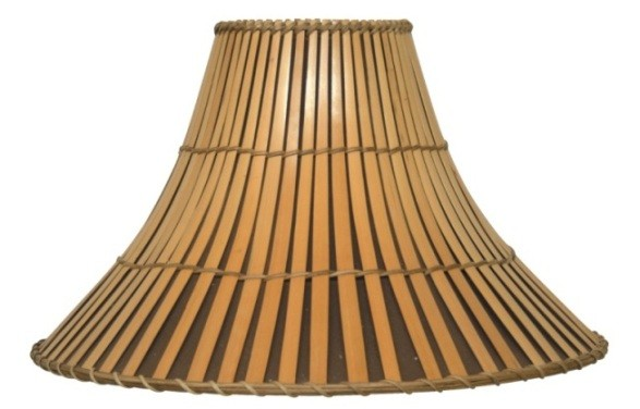 "Bamboo Lamp Shade 20-22""W"