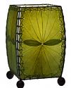 "Alibanbang Butterfly Leaf Mini Table Lamp 8""Hx6""W #477-Green"