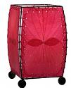 "Alibanbang Butterfly Leaf Mini Table Lamp 8""Hx6""W #477-Pink"