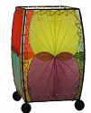 "Alibanbang Butterfly Leaf Mini Table Lamp 8""Hx6""W #477-Multi Color"