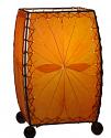 "Alibanbang Butterfly Leaf Mini Table Lamp 8""Hx6""W #477-Orange"
