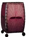 "Alibanbang Butterfly Leaf Mini Table Lamp 8""Hx6""W #477-Purple"