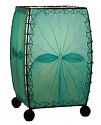 "Alibanbang Butterfly Leaf Mini Table Lamp 8""Hx6""W #477-Sea Blue"