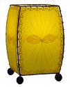 "Alibanbang Butterfly Leaf Mini Table Lamp 8""Hx6""W #477-Yellow"