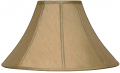 "Antique Gold Coolie Lamp Shade 16-22""W"