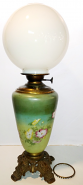 Ball Glass Shade Will Be Hand Painted