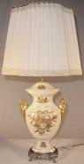 "Antique Porcelain Lamp 23""H SOLD"