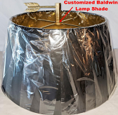 Baldwin Bouillotte Lamp Shade Customized