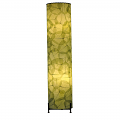 "Banyan Leaf Floor Lamp 36""Hx8""W #483L-Green"