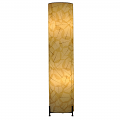 "Banyan Leaf Floor Lamp 36""Hx8""W #483L-Natural"