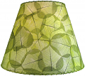 "Banyan Leaf Lamp Shade 16""W #490-Green"