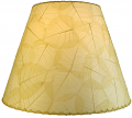 "Banyan Leaf Lamp Shade 16""W #490-Natural"