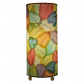 "Banyan Leaf Table Lamp 17""Hx7""W #483T-Multi Color"