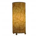 "Banyan Leaf Table Lamp 17""Hx7""W #483T-Natural"