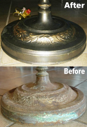 Floor Lamp Repair Before & After