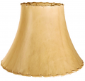 "Bell Sheep Skin Leather Lamp Shade 14-24""W"