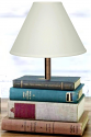 "Books Lamp 22-28""H"