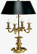 Example of Bouillotte Lamp Shade For Candelabra Lamps