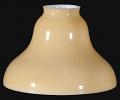 Gold Glass Bridge Arm Floor Lamp Shade