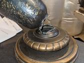 Vintage Lamp Base Broken & Repaired