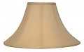 "Buff Coolie Lamp Shade 16-24""W"