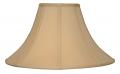 "Buff Coolie Lamp Shade 16-24""W"