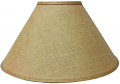 "Burlap Coolie Lamp Shade 16-24""W"