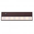 "LED ORB Bronze Cabinet Light 14""Lx4""W"