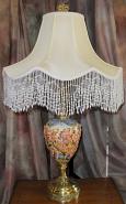 """Nude Maidens Antique Capodimonte Lamp 27""""H SOLD"""