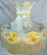 Capodimonte Lamp Shade Recover Project