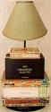 "Cigar Box Lamp USA Made 22-26""H"