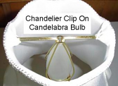 Chandelier Lamp Shades Clip On To A Candelabra Bulb